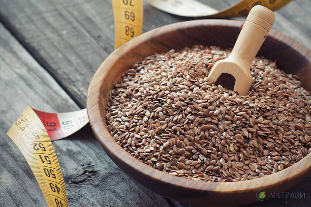 Як використовувати льон для схуднення