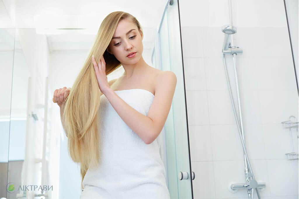 Мята перечная для волос