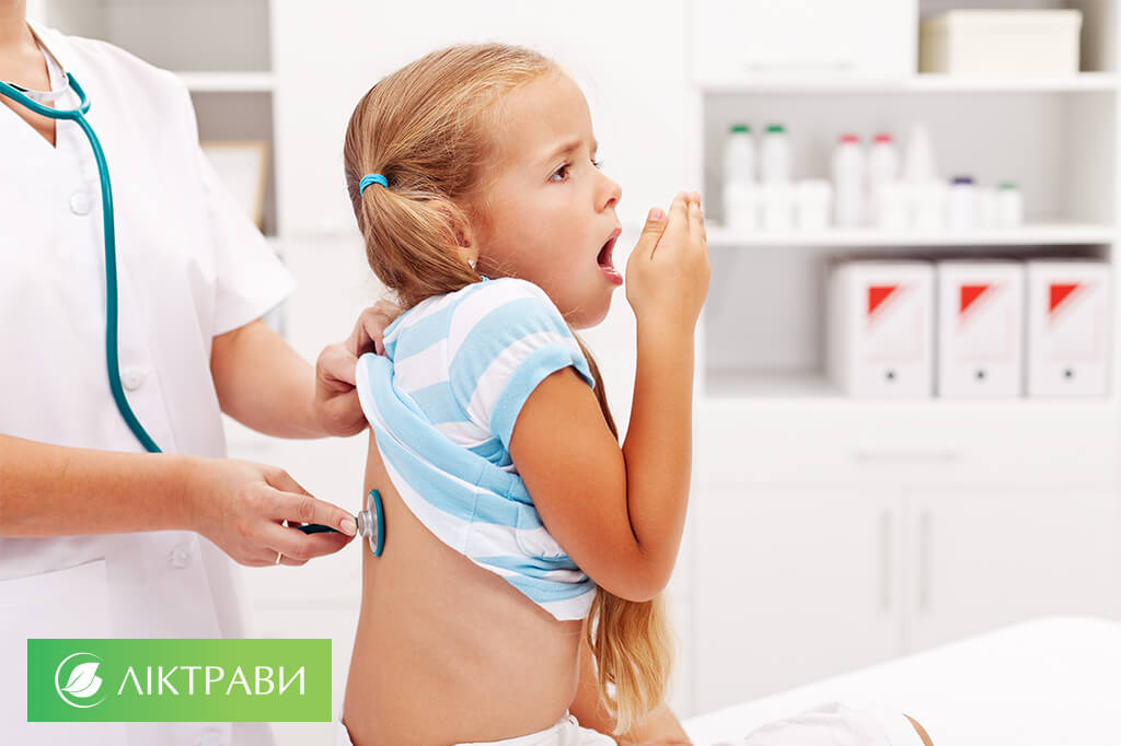 лікування кашлю у дітей