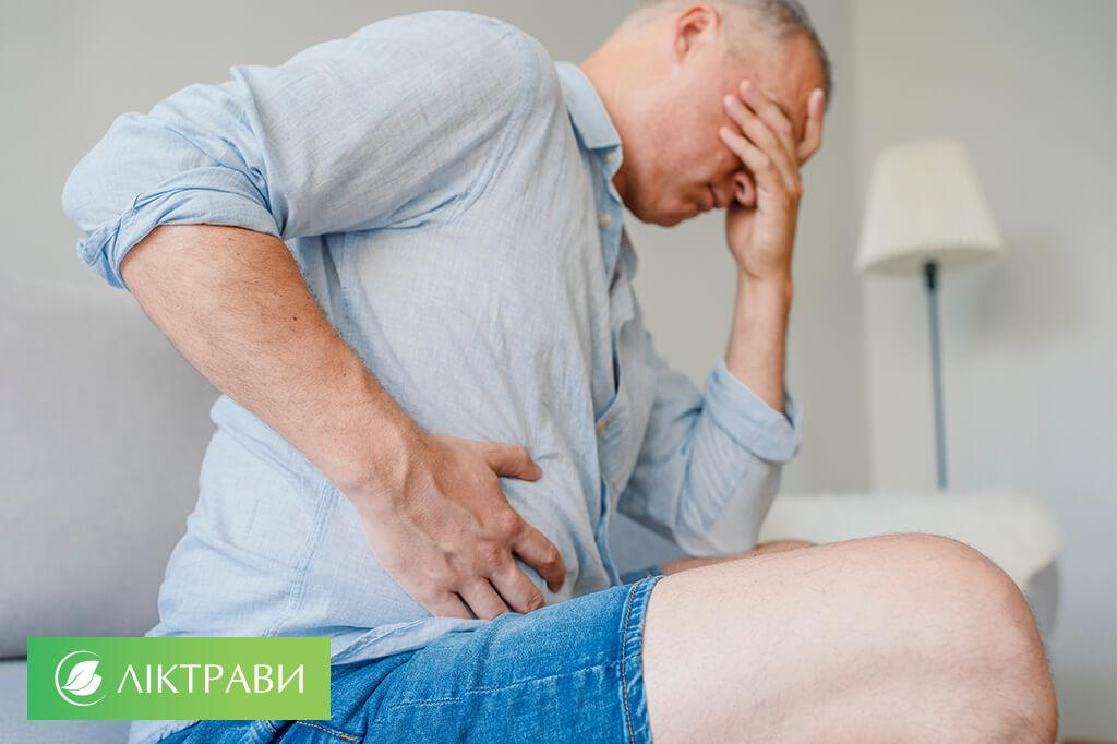 Cимптоми захворювань печінки