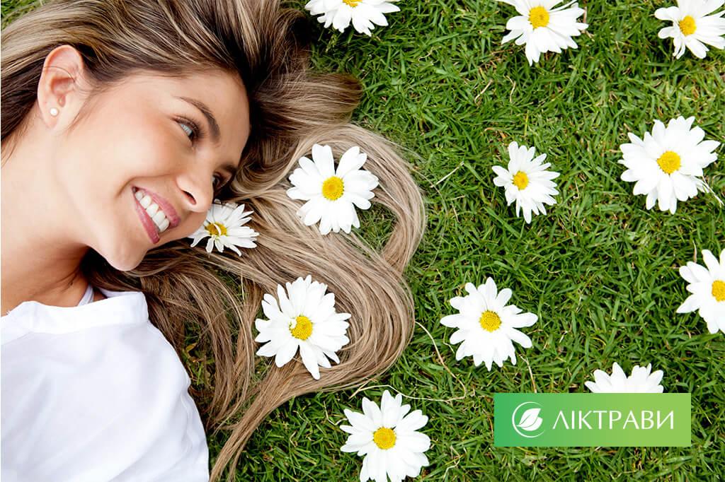 цілющі трави для здоров'я волосся
