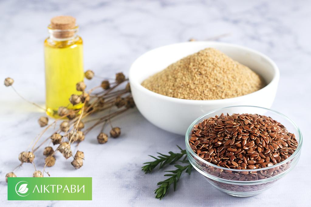 насіння льону для схуднення та здоров'я