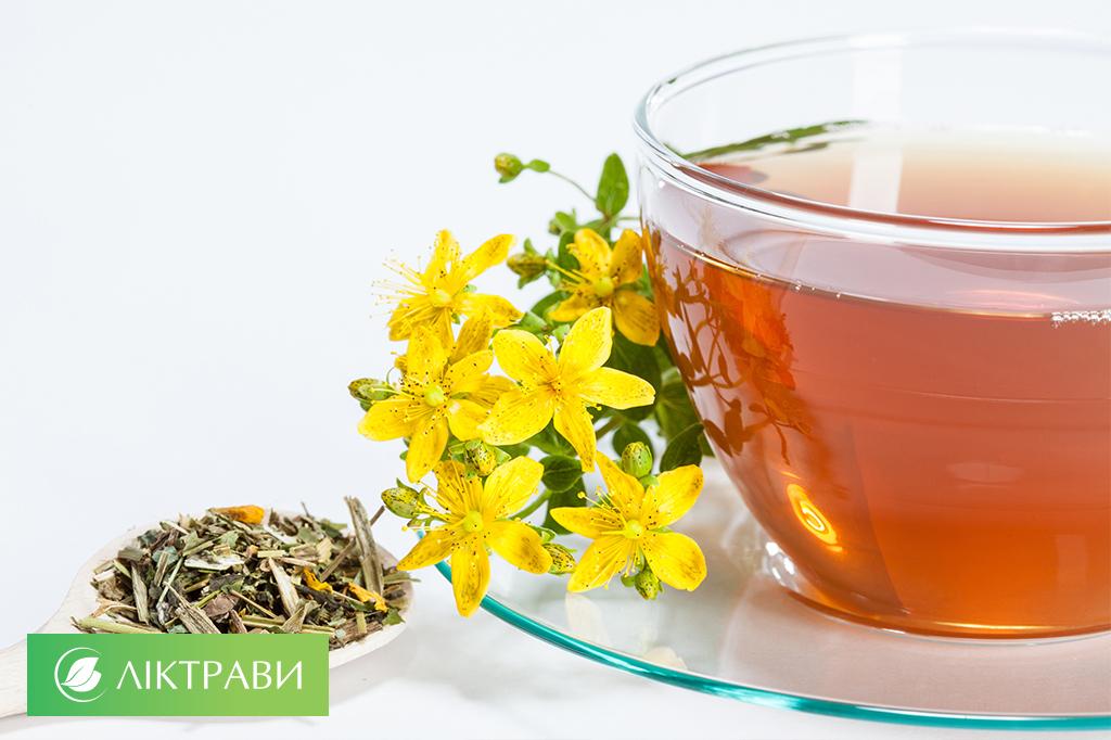 лікування ангіни трав'яними чаями